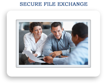 Secure File Exchange